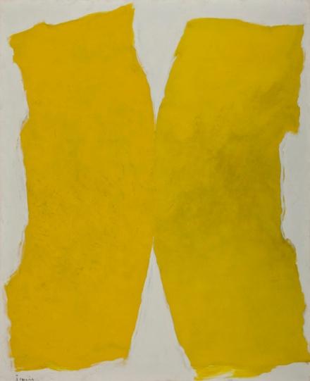 Tomie Ohtake, Composição em Amarelo, Museu de Arte de Sao Paulo MASP