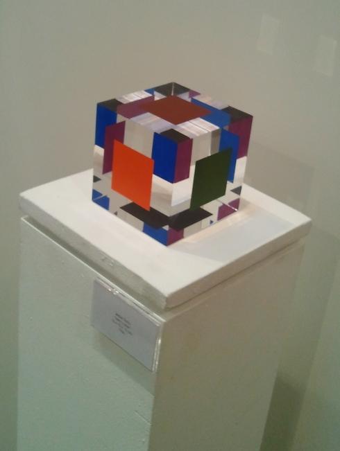 Mini cube, Jesus Soto, 1966