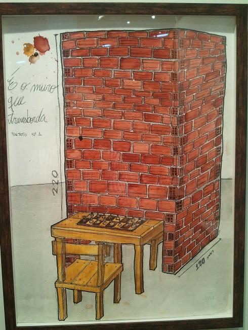 E o muro que transborda, Daniel Murgel