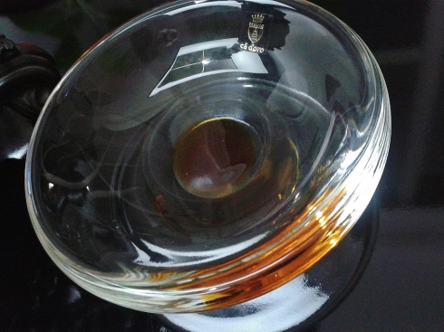 from the Ca d'Or line of Seguso glass