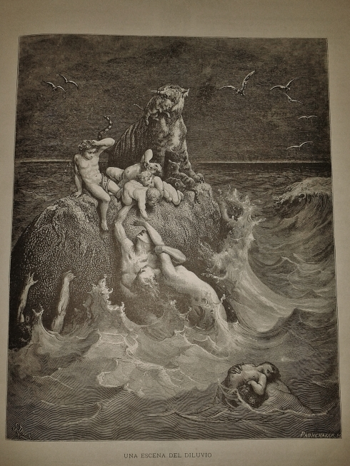 A scene from the Flood