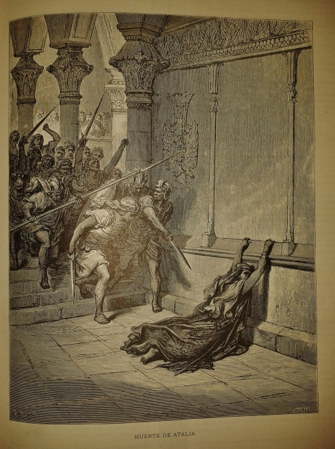 The execution of Queen  Athaliah